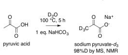 pyruvic-acid-deuteration