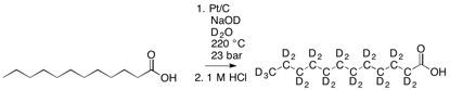 lauric acid deuteration